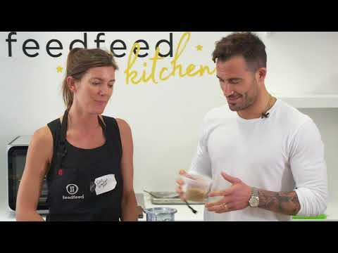 Michael Chernow and the feedfeed in the Food Loves Tech Test Kitchen