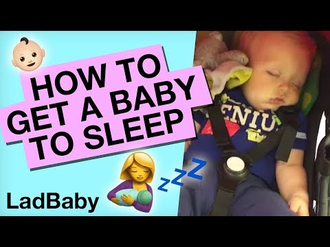 Thumbnail: Getting a baby to sleep...in public