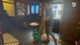 'It's just too much,' Dublin pub owner says as bar hit by flash flood
