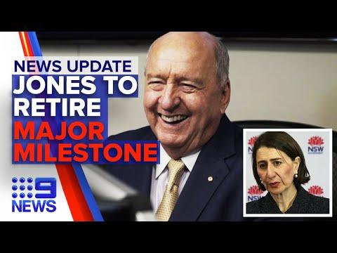 In Depth Update: Alan Jones, NSW Cases | Nine News Australia