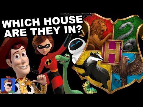 J vs Ben vs Brizzy: Sorting Pixar Characters Into Hogwarts Houses