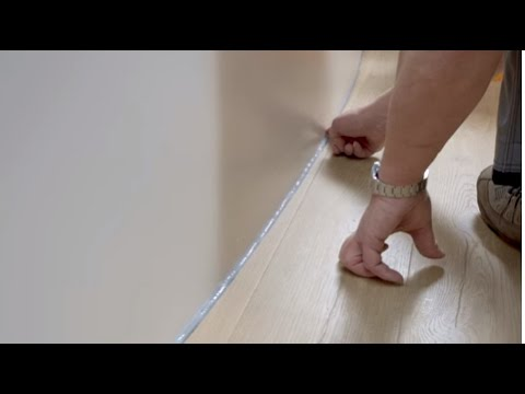 Installing laminate: how to seal your floor