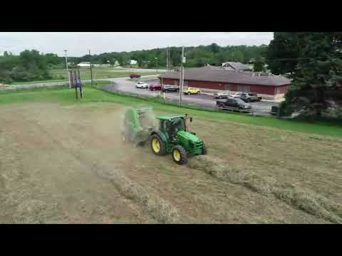 West Central Equipment-Somerset Pennsylvania / 2018 Hay Clinic, Round Baling Demonstration