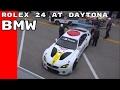 Full Coverage - BMW M6 GTLM Art Car Racing At Daytona