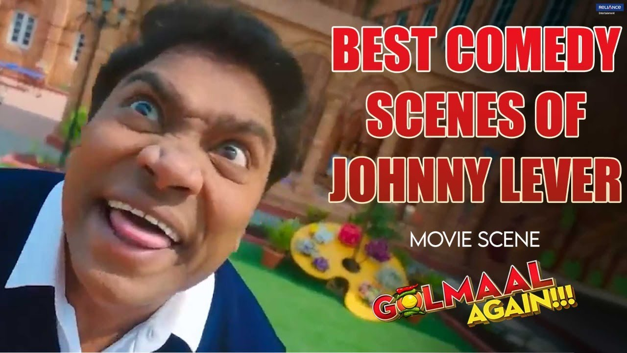 Best Comedy Scenes of Johnny Lever | Movie scene | Golmaal Again | Johnny Lever