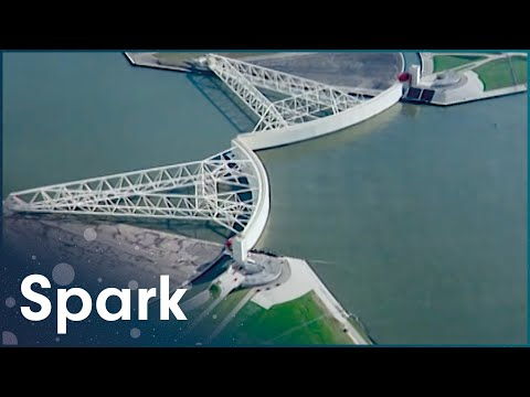 How Are Oil Rigs Built At Sea? | How Did They Build That? | Spark