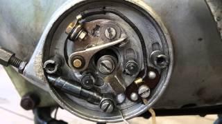 Moto Parilla 175 Lusso Veloce contact-breaker srowmotion