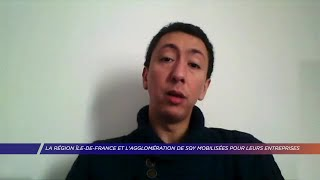 Yvelines | La région et l'agglomération de SQY mobilisées pour les entreprises