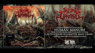 VISCERAL UPROOTING - HUMAN MANURE [SINGLE] (2020) SW EXCLUSIVE