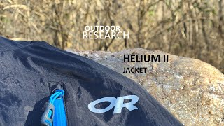 Gambar cover Outdoor Research Helium II Jacket Review