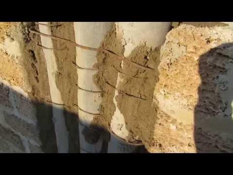 Монтаж асбестцементных труб - как не делать! Установка в стену для вытяжки кухни, вытяжки ванной.