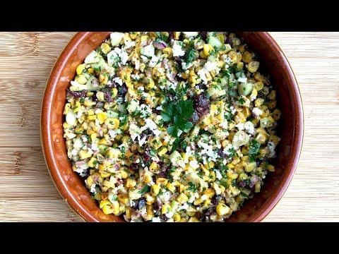 salade-d'épis-de-mais-grillé