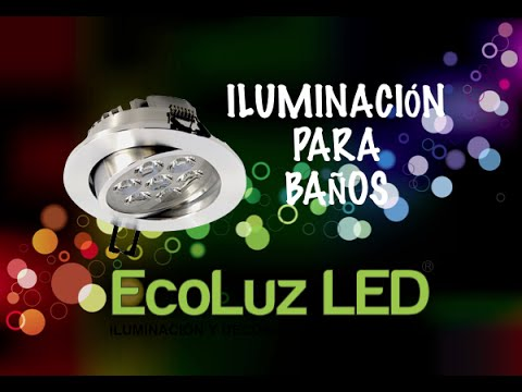 Iluminaci n led para ba os youtube - Iluminacion bano led ...
