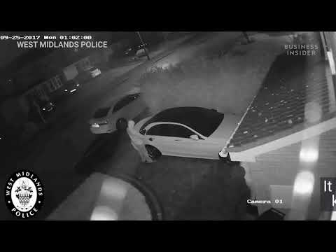 Thieves unlocked and stole a Mercedes without the keys