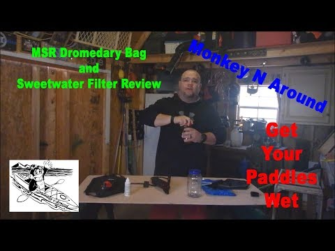 Review of MSR Dromedary Bag and Sweet Water Filter