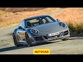 New Porsche 911 GTS review   Carrera 4 GTS tested   As good as a GT3?   Autocar