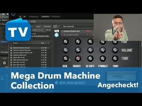 top vst plugin freeware f r cubase co mega drum machine collection youtube. Black Bedroom Furniture Sets. Home Design Ideas