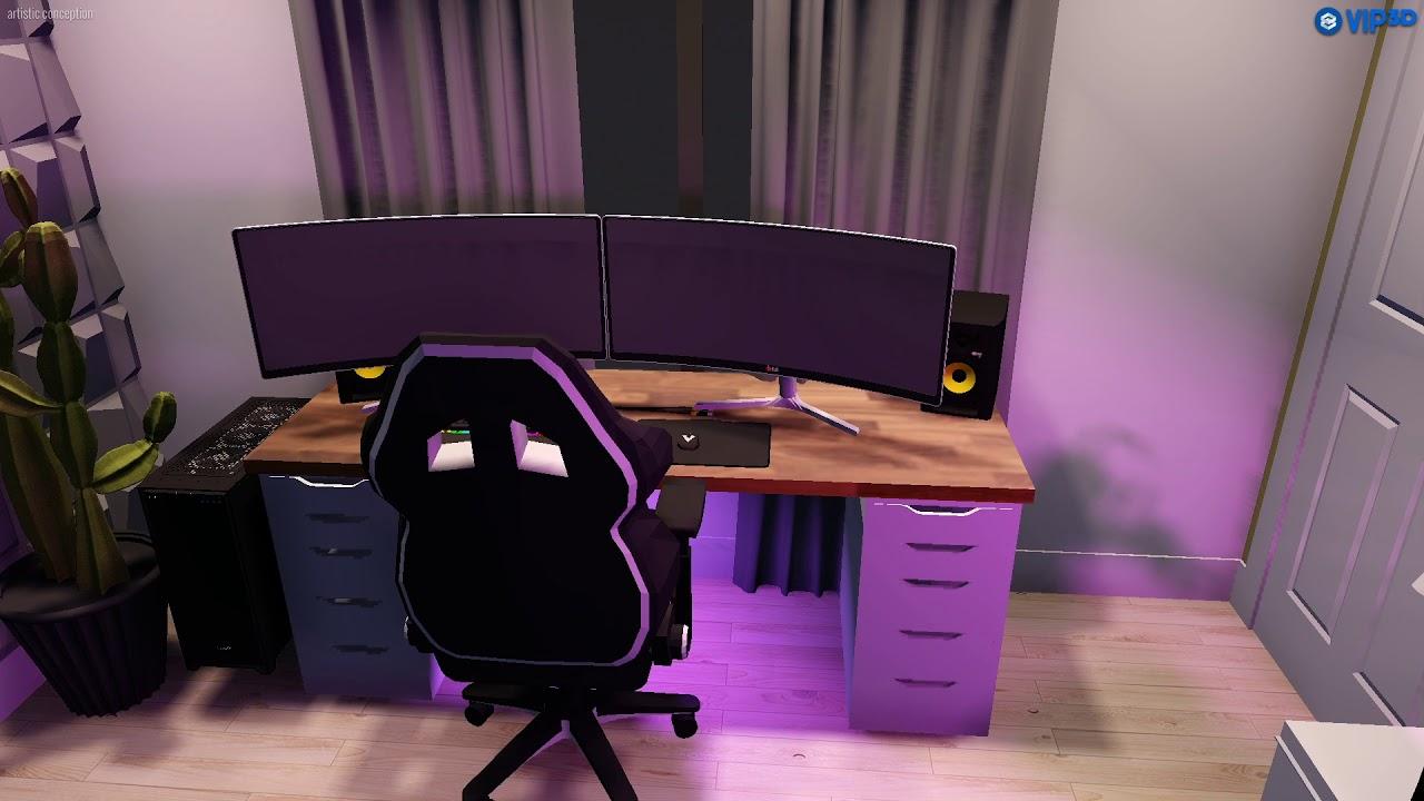 Ikea Gaming Setup Design Youtube