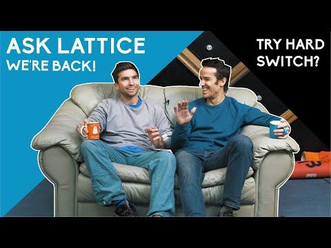 """Ask Lattice: EP.9 Climbing """"Try Hard"""" Switch, Index/Pinkie Training, Fingerboarding & More"""