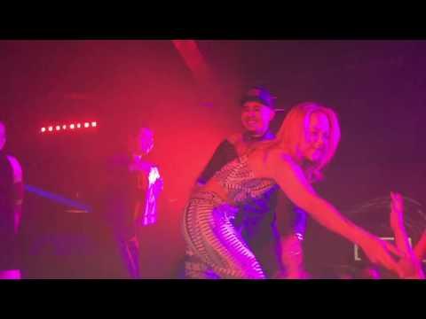 Kat Deluna show at club elevate in Salt Lake City!!