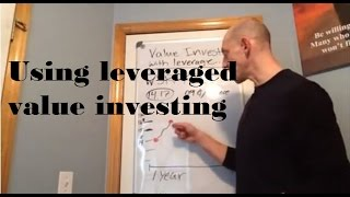 value investing with compounded dividends - value based leverage