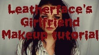 Leather Face's Girlfriend Makeup Tutorial Thumbnail