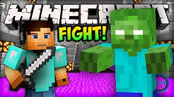 Minecraft MOB FIGHT - Arena Challenge! - Minecraft w/ Ali-A #1!
