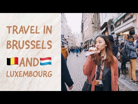 Walk your chapters: travel vlog in Brussels and Luxembourg