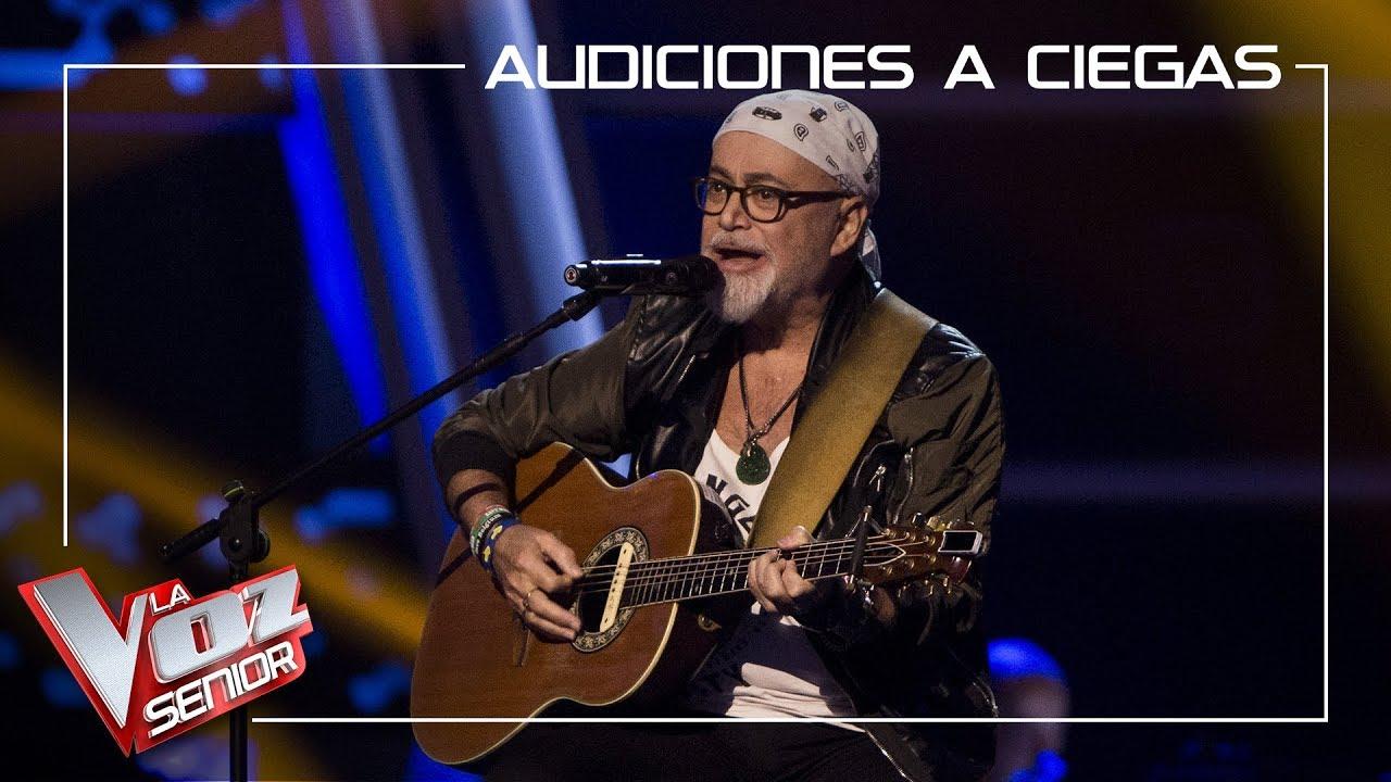 Frank Mercader canta 'It's A Heartache' | Audiciones a ciegas | La Voz Senior Antena
