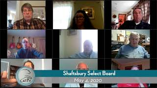Shaftsbury Select Board // 5-4-20