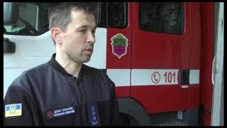 м. Запоріжжя: співробітник ДСНС у позаробочий час врятував на пожежі літню жінку