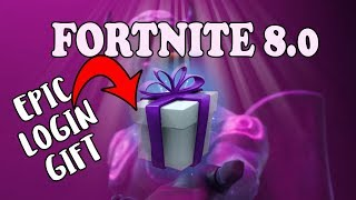 EPIC LOGIN GIFT in Fortnite 8.0 | They are giving away EVERYTHING!!! Fortnite STW