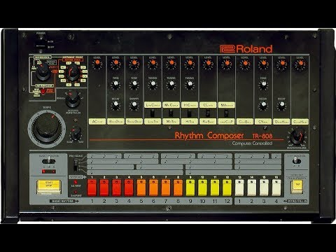 Testing TR-808 VST from roland