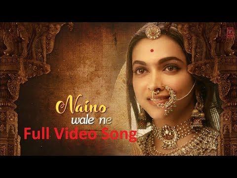 Nainowale Ne Full Video Song - Padmaavat Movie   Ranveer Singh   Shahid Kapoor   Deepika Padukon