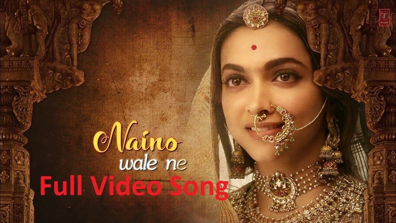 Download Nainowale Ne Full Video Song - Padmaavat Movie   Ranveer Singh   Shahid Kapoor   Deepika Padukon
