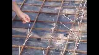 вязка арматуры капроновыми стяжками(, 2012-09-24T13:53:51.000Z)