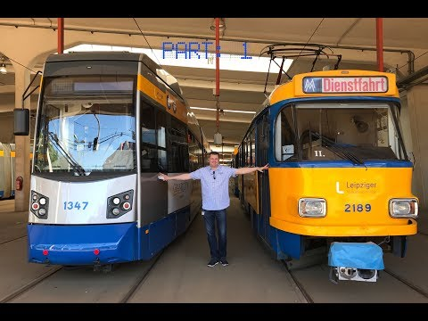 Leipzig and its tram with my dear friend and colleague Jens / Germany, June 2017 / Part: 1