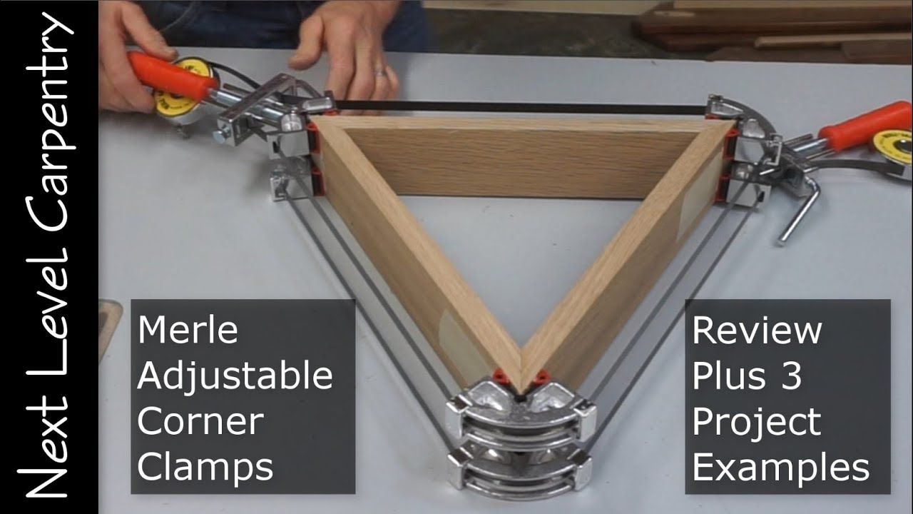 Merle Adjustable Corner Clamp Review Youtube