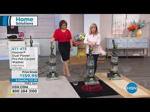 Hoover Dual Power Pro Pet Carpet Washer with Cleaning So...