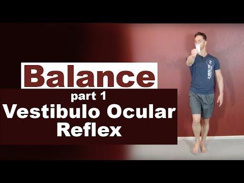 Balance Part 1 - Vestibulo Ocular Reflex Drill