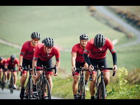 INEOS TEAM UK on two wheels