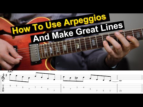 7 Ways To Make Arpeggios Sound Great In A Solo