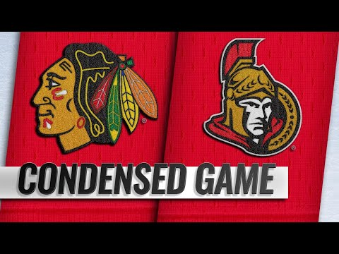 10/04/18 Condensed Game: Blackhawks @ Senators
