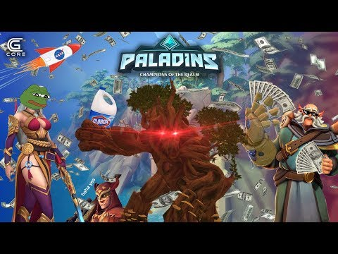 GROVER'S NEW GROOVE (Paladins funny moments)