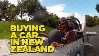 Buying A Car In New Zealand