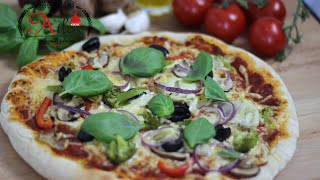 Die Perfekte Pizza & Pizzasauce - بيتزا ناجحة في البيت