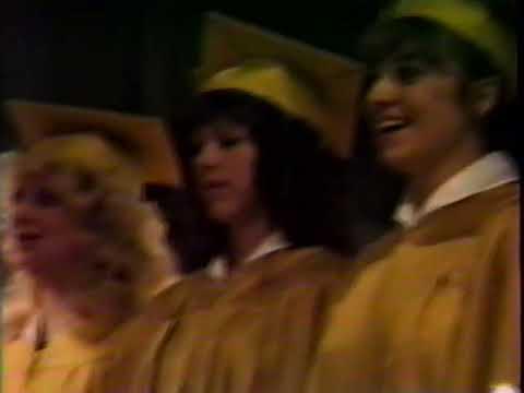 Castor High School Graduation 1988