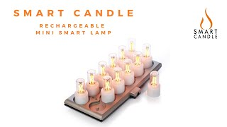 Smart Candle Rechargeable Mini Smart Lamp