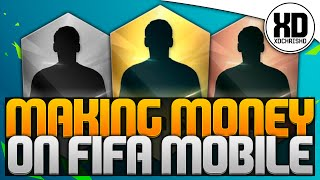FIFA 16 MOBILE | MAKING MONEY | TIPS AND TRICKS