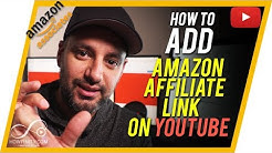 How to add AMAZON AFFILIATE links to YouTube